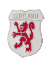 Scotland Lion Crest Small Pin Badge (T091a)
